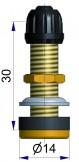 Латунный б/к вентиль TR 430 S-4043-2